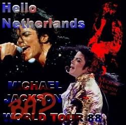 コレクターズCD Michael Jackson(マイケルジャクソン 88年 BAD WORLD TOUR) Netherlands